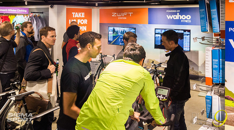 KICKR Zwift Station