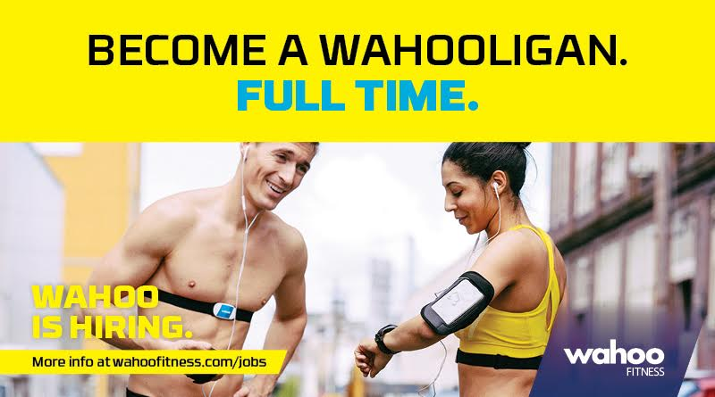 Work at Wahoo Fitness