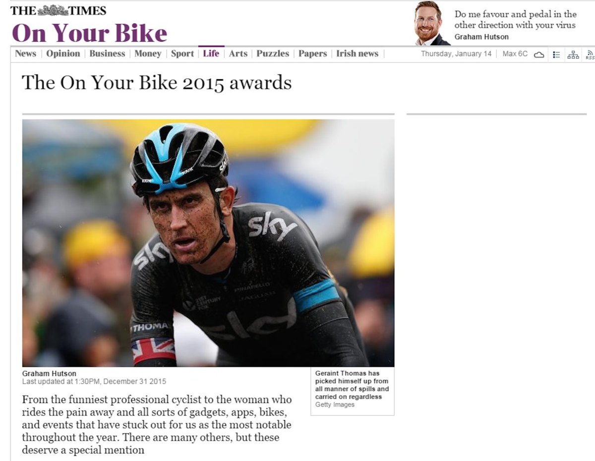 2015 Training Aid of the Year