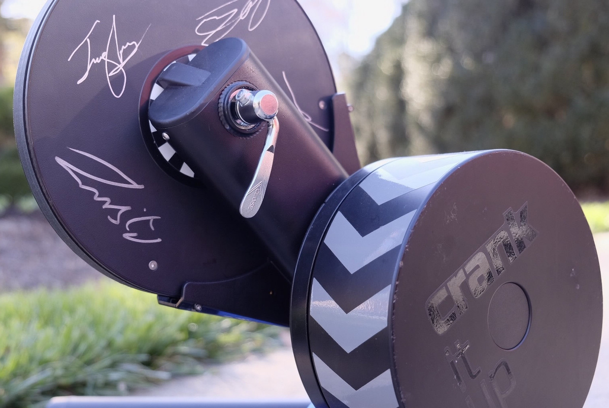 Enter to Win a KICKR Signed by Team Sky