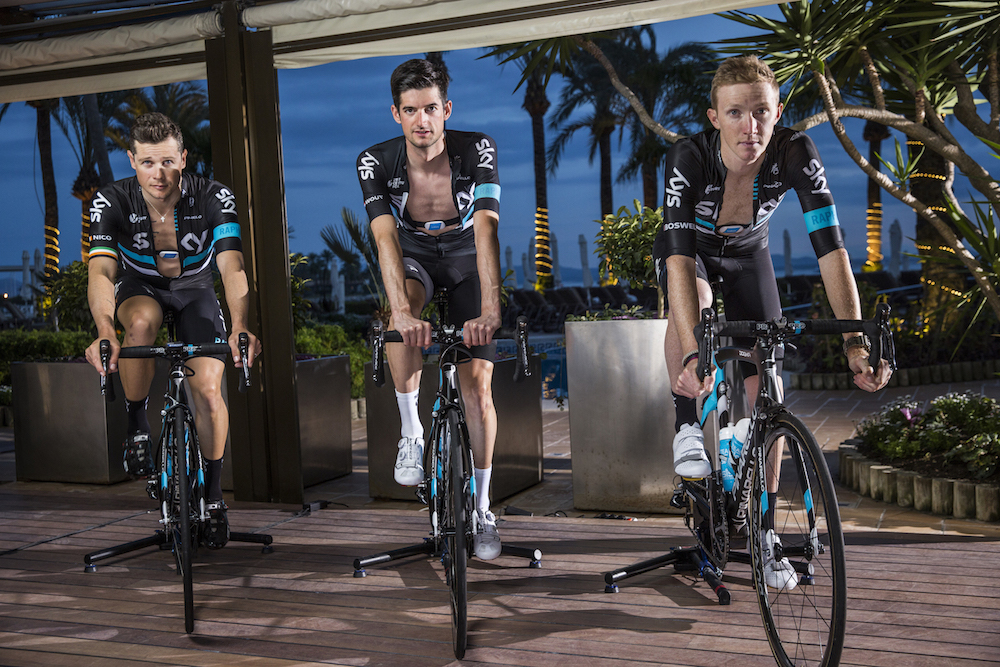 Team Sky KICKR Smart Trainer and TICKR Heart Rate Monitor