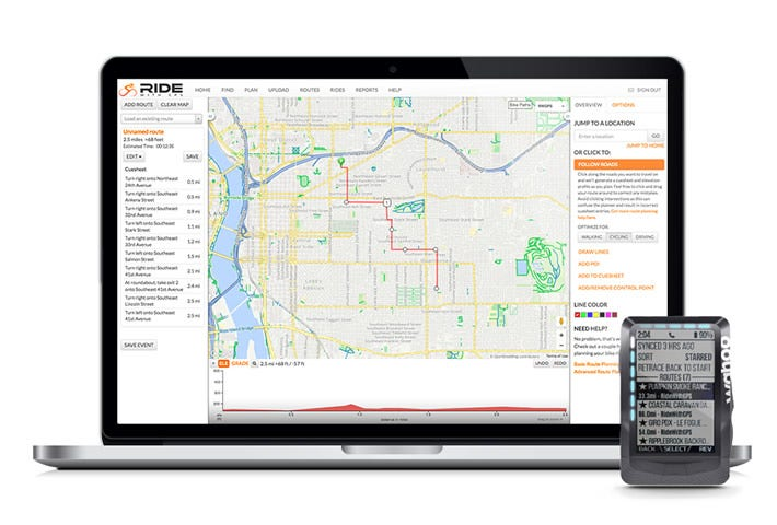 Ride with GPS with ELEMNT GPS Bike Computers | Wahoo Fitness
