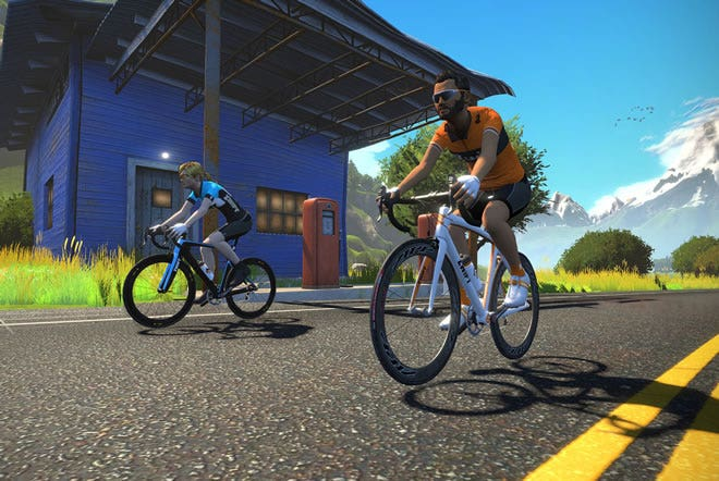 Zwift Cycling App with KICKR Smart Trainer | Wahoo Fitness